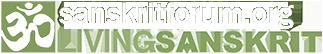 Logo sanskritforum rodape moodle - 323x54px